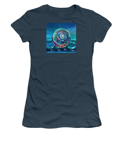 Withstanding Orby Weather Women's T-Shirt (Junior Cut) by Robin Moline