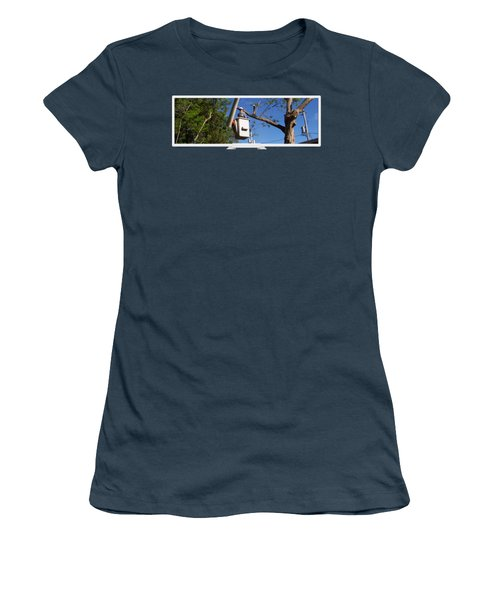 Woodland Tree Service Women's T-Shirt (Junior Cut) by Evergreenarborists