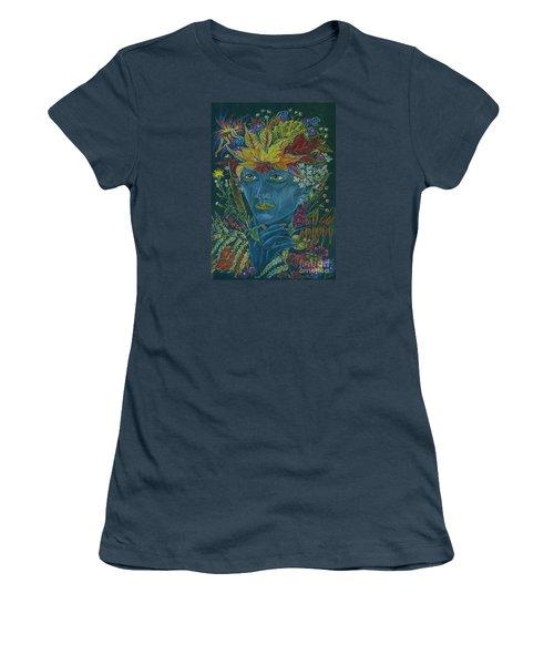 Woolly Bear Caterpillar Women's T-Shirt (Junior Cut) by Dawn Fairies