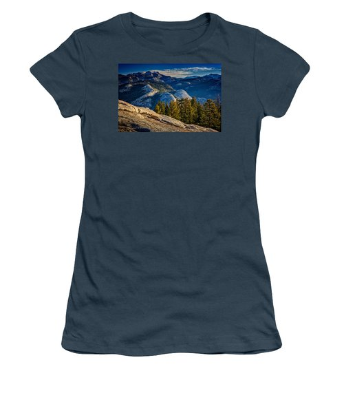 Yosemite Morning Women's T-Shirt (Junior Cut) by Rick Berk
