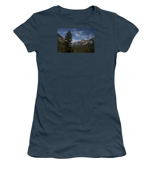 Yosemite View Women's T-Shirt (Junior Cut) by Ivete Basso Photography