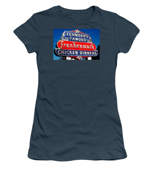 Zehnder's Frankenmuth Michigan Women's T-Shirt (Junior Cut) by LeeAnn McLaneGoetz McLaneGoetzStudioLLCcom