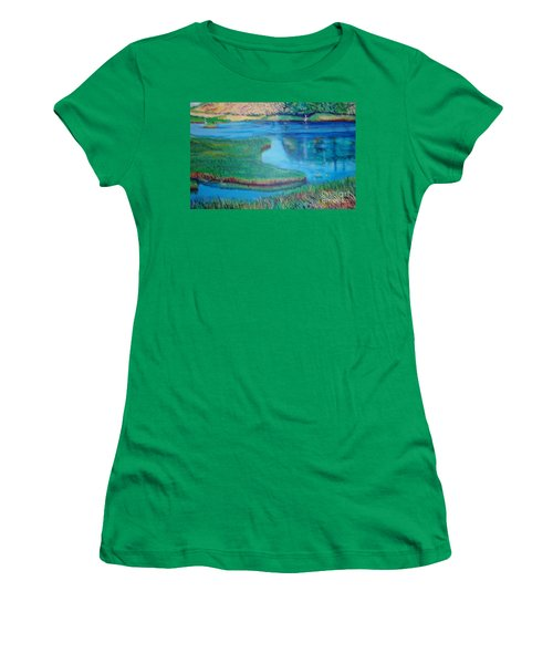 Myakka Sanctuary Women's T-Shirt (Athletic Fit)