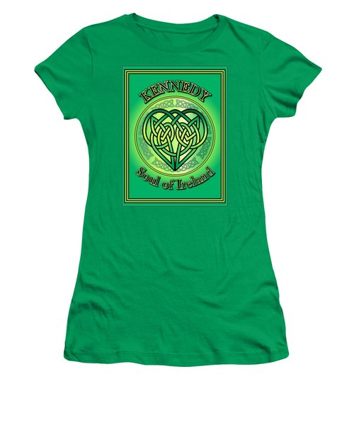 Kennedy Soul Of Ireland Women's T-Shirt (Athletic Fit)
