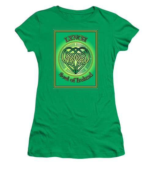 Lynch Soul Of Ireland Women's T-Shirt (Athletic Fit)