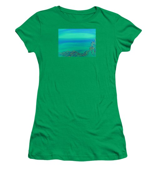 Nerissa Women's T-Shirt (Junior Cut) by Robert Nickologianis