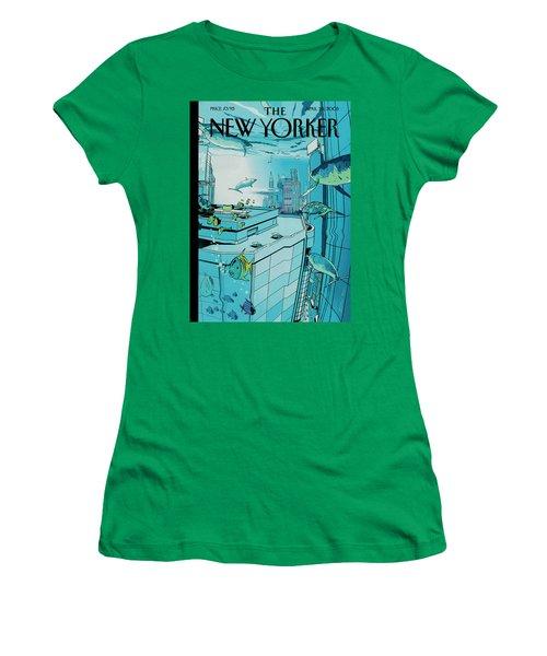 New Yorker April 25th, 2005 Women's T-Shirt