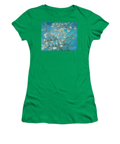 Almond Branches In Bloom Women's T-Shirt