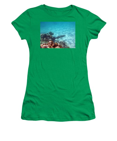 Women's T-Shirt (Junior Cut) featuring the photograph Barracuda by Eti Reid