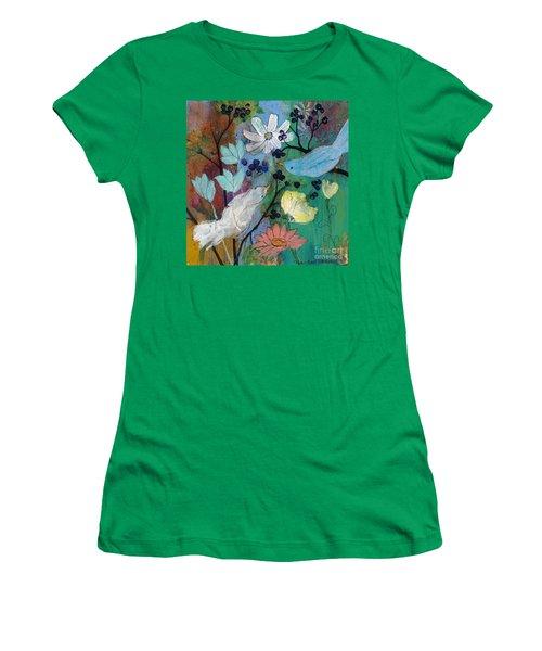 Birds And Berries Women's T-Shirt
