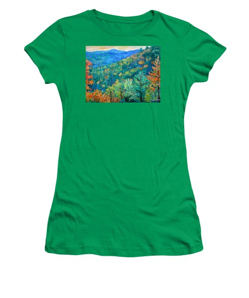 Blue Ridge Autumn Women's T-Shirt (Athletic Fit)