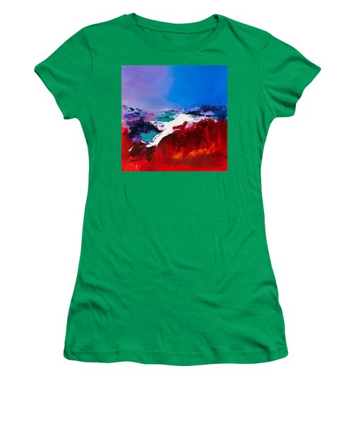 Call Of The Canyon Women's T-Shirt (Athletic Fit)