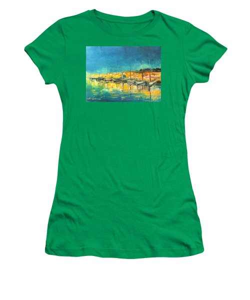 Cannes By Night Women's T-Shirt