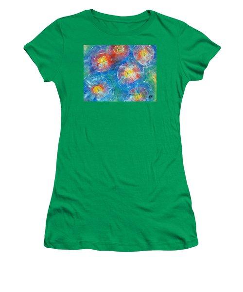 Circle Burst Women's T-Shirt