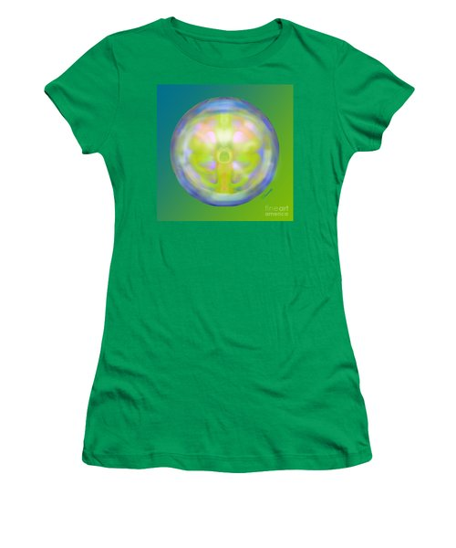 Crystal Ball Women's T-Shirt (Junior Cut) by Christine Fournier