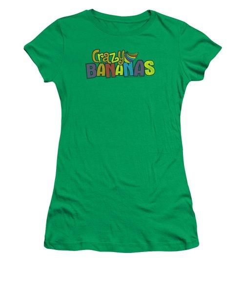 Dubble Bubble - Crazy Bananas Women's T-Shirt (Athletic Fit)