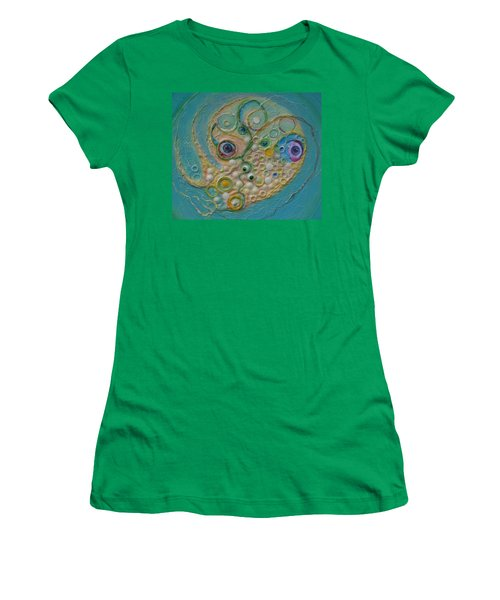Fried Egg Head Over Queasy Women's T-Shirt (Athletic Fit)