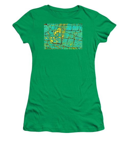 Women's T-Shirt (Junior Cut) featuring the photograph Flyover Country by Jerry Gammon