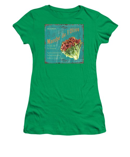 French Market Sign 3 Women's T-Shirt (Athletic Fit)