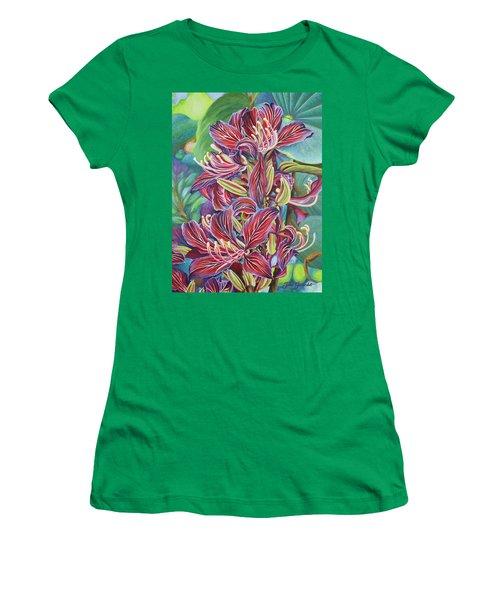 Full Blossom Orchid Tree Women's T-Shirt