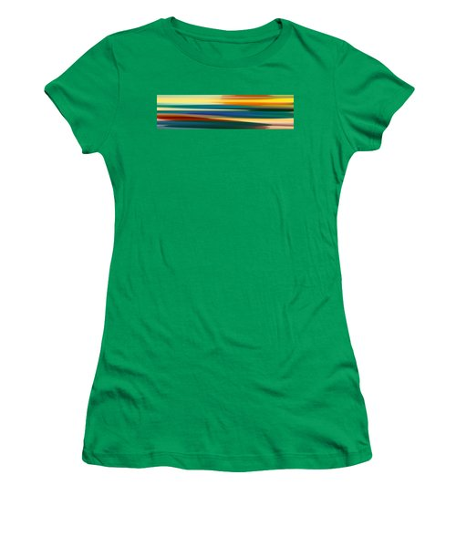Fury Seascape Panoramic 1 Women's T-Shirt (Athletic Fit)