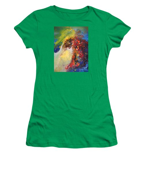 Glory Of Nature Women's T-Shirt (Athletic Fit)