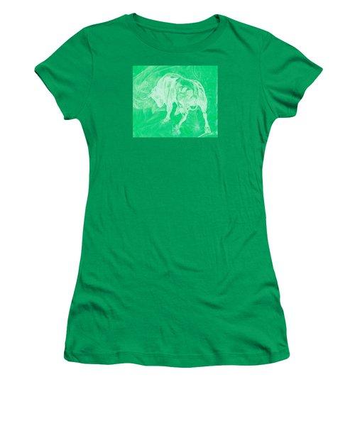 Green Bull Negative Women's T-Shirt