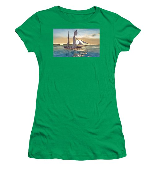 Gulf Of Mexico Area In The World Playground Scenery Project  Women's T-Shirt