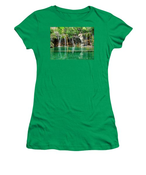 Hanging Lake 1 Women's T-Shirt (Athletic Fit)