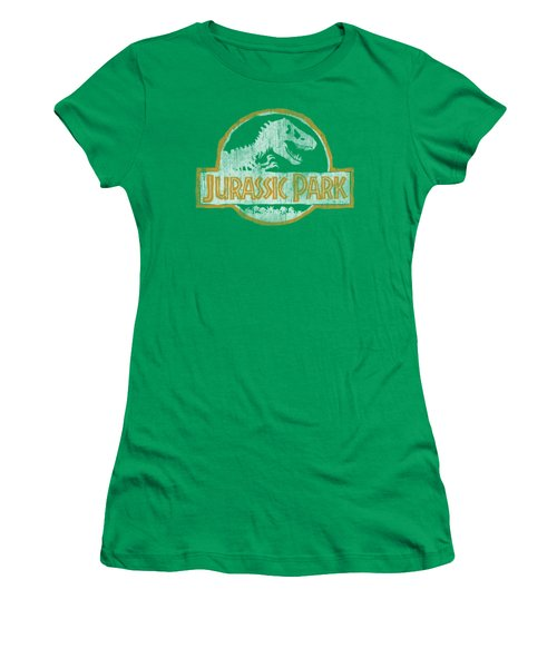 Jurassic Park - Jp Orange Women's T-Shirt (Junior Cut) by Brand A