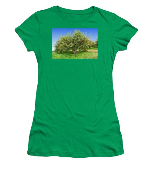 Large Apple Tree Women's T-Shirt