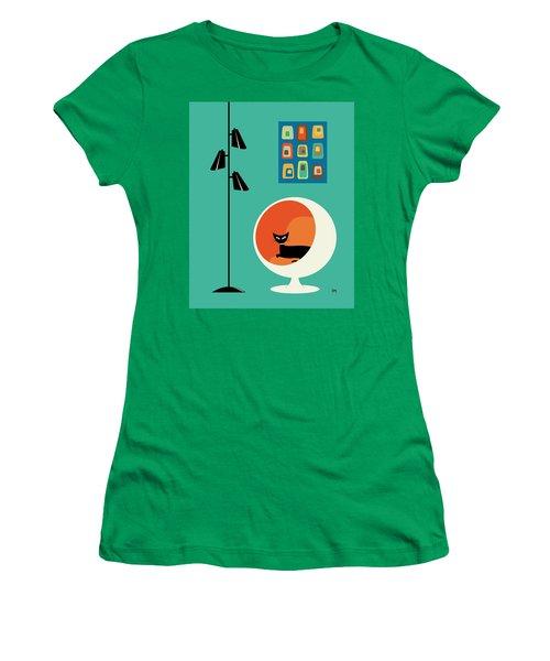 Mid Century Mini Oblongs Women's T-Shirt (Athletic Fit)