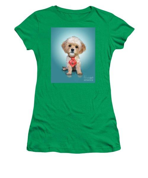 Mr. Toby Waffles The Cavapoo Women's T-Shirt