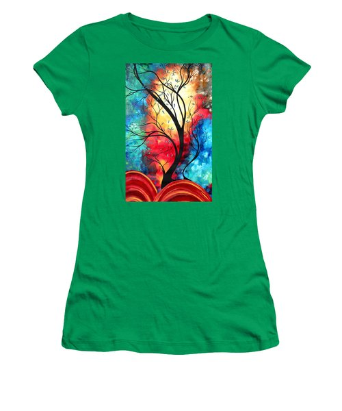 New Beginnings Original Art By Madart Women's T-Shirt