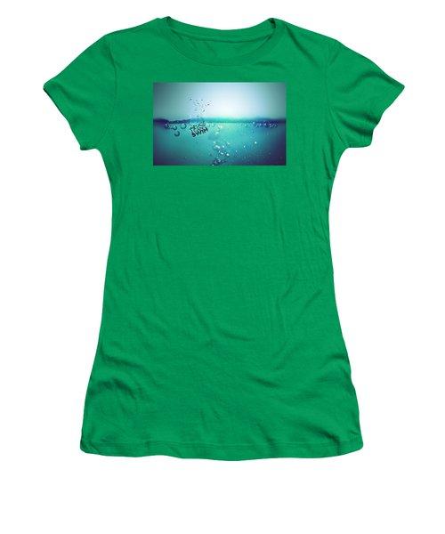 No Fun Water Women's T-Shirt