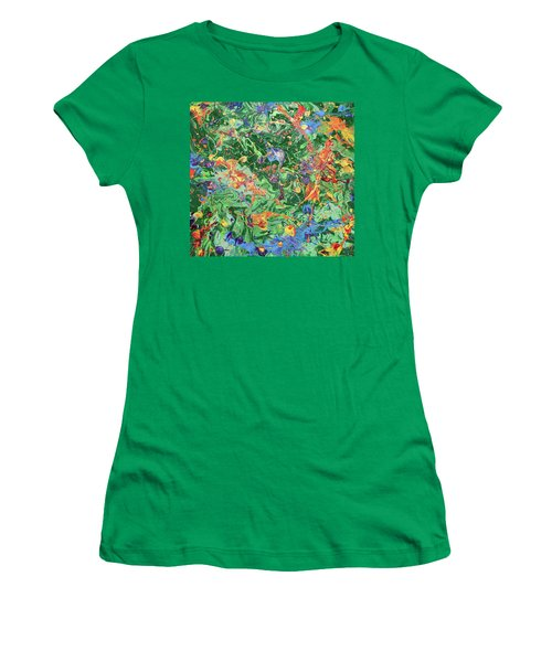 Paint Number Twenty Three Women's T-Shirt (Athletic Fit)