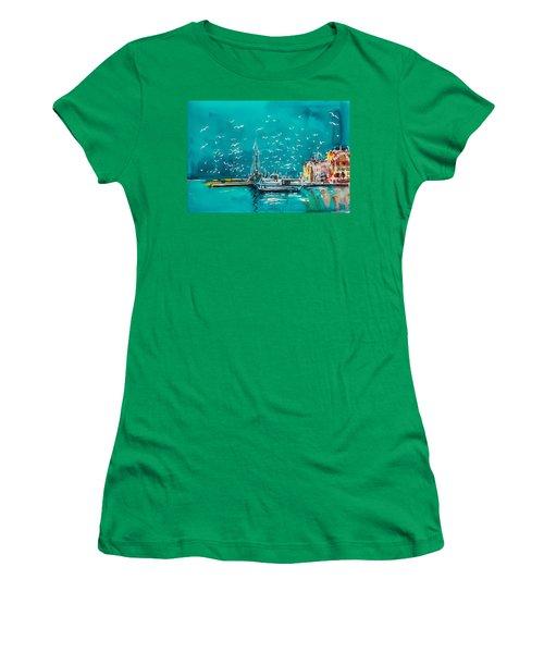 Port Women's T-Shirt (Athletic Fit)