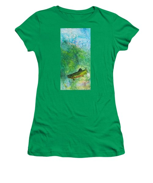 Rainbow Environment Women's T-Shirt (Athletic Fit)