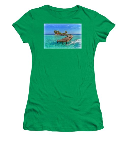 Robinson Island Women's T-Shirt (Athletic Fit)