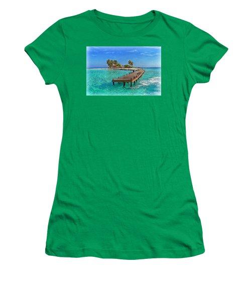 Robinson Island Women's T-Shirt (Junior Cut)