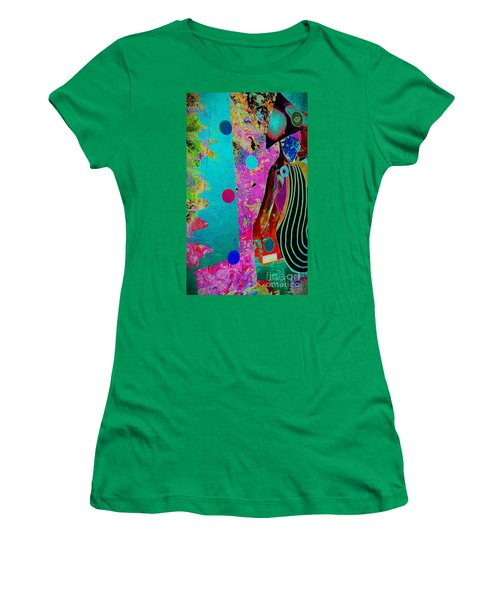 She Waits By The Window Women's T-Shirt (Athletic Fit)