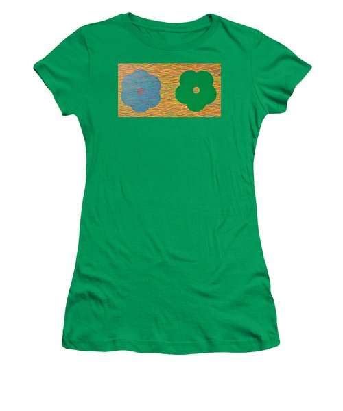 Siblings 2 Women's T-Shirt (Junior Cut) by Kyung Hee Hogg