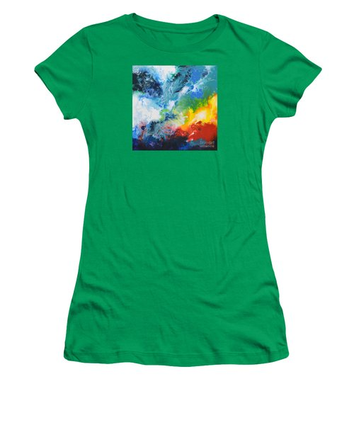 Spark Of Life Canvas Two Women's T-Shirt