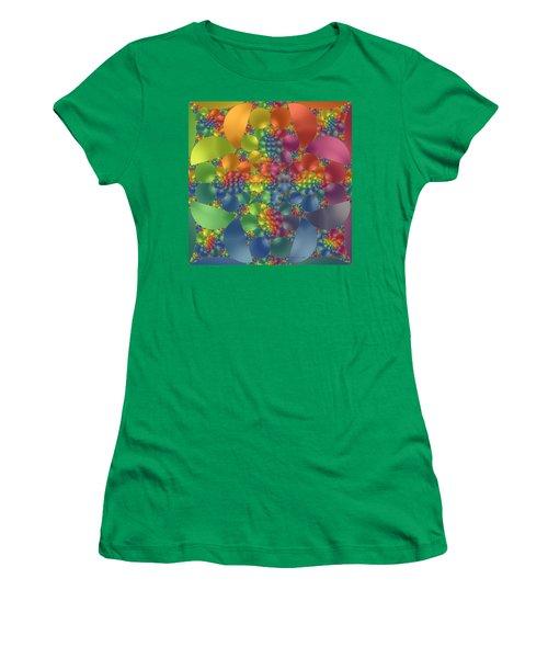 Spring Promises Fractal Women's T-Shirt