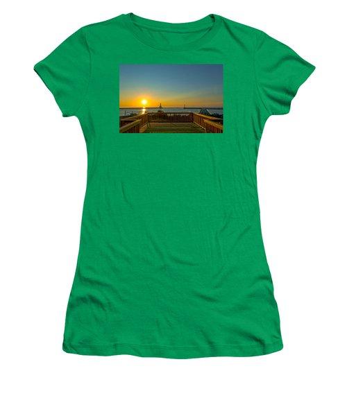 Sunrise Deck Women's T-Shirt