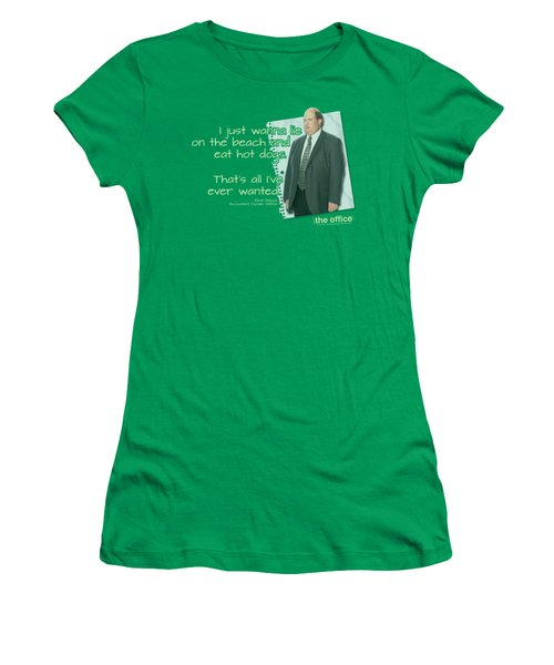 The Office - Kevin's Dream Women's T-Shirt (Athletic Fit)