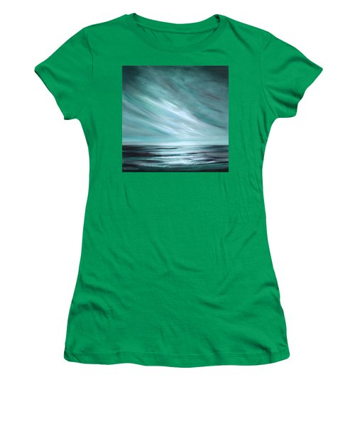 Tranquility Sunset Women's T-Shirt (Athletic Fit)