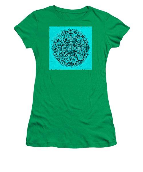 Turquoise Oreo Women's T-Shirt