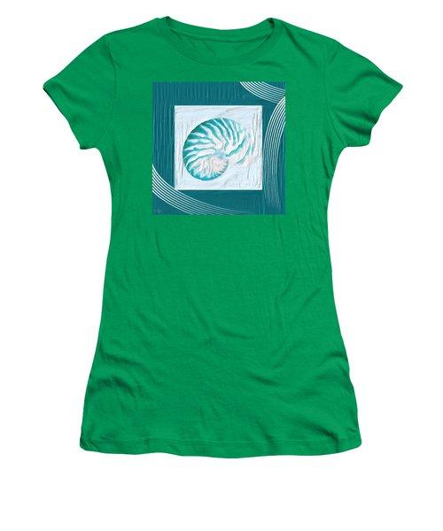Turquoise Seashells Xxi Women's T-Shirt