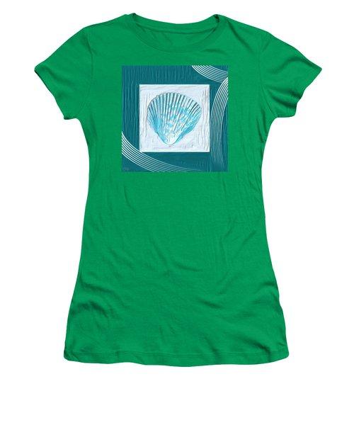 Turquoise Seashells Xxiii Women's T-Shirt